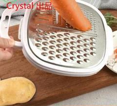 "Thumbnail of ""多機能 洗いやすい 鋭い 千切り 操作簡単 調理器具 手動 大根 ニンニク"""