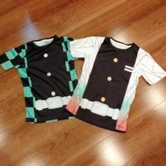 "Thumbnail of ""鬼滅 炭治郎 しのぶ Tシャツ 130cm"""