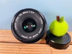 "Thumbnail of ""Canon New FD 28mm 2.8 フィルムカメラ⭐️"""