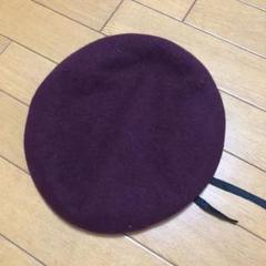 """Thumbnail of """"ワインカラーのベレー帽"""""""