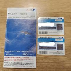 "Thumbnail of ""ANA 株主優待 2021年6月~2022年5月31日"""
