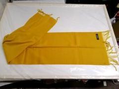 "Thumbnail of ""カシミヤマフラー 31cm X 136cm 新品、未使用タグ付 ★う6557"""