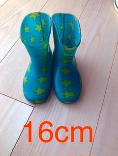 "Thumbnail of ""長靴(星柄)16cm"""