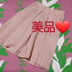 "Thumbnail of ""美品❤️80㎝~90㎝ ピンクベージュ ガウチョパンツ"""