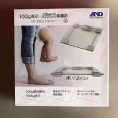 "Thumbnail of ""A&D  ガラス 体重計"""