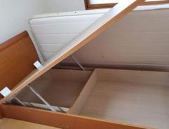 "Thumbnail of ""【中古】大収納可!東京ベッド_リフトアップタイプのベッドです。(送料込み)"""
