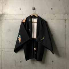 "Thumbnail of ""雲模様 刺繍アート 着物 羽織 c"""