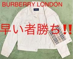 "Thumbnail of ""【タグ付】BURBERRY LONDON バーバリー ジャケット ノバチェック"""