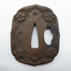 "Thumbnail of ""旧日本軍 軍刀 鍔 陸軍"""
