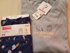 """Thumbnail of """"ユニクロ スヌーピーTシャツ&コットンリラコ"""""""