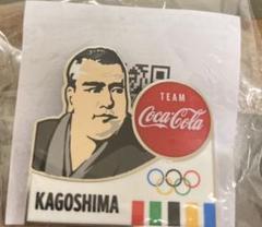 "Thumbnail of ""コカコーラ オリンピック ピンバッチ 鹿児島"""