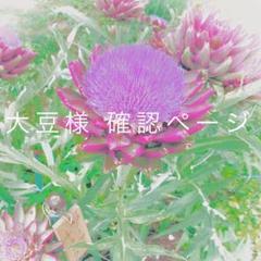 "Thumbnail of ""大豆様 確認ページ"""