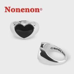 """Thumbnail of """"Nonenon BLACK LOVE RING 18-20号"""""""