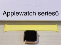"Thumbnail of ""本日発送 Applewatch series6 40mm 本体 バンド【極美品】"""