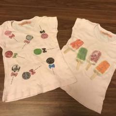 "Thumbnail of ""ouch! ストンプスタンプ 女の子 Tシャツ 85 2点セット"""