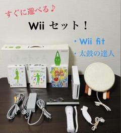 "Thumbnail of ""任天堂 Wii トレーニング 太鼓の達人 ソフト3枚付き"""