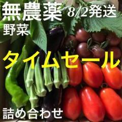 """Thumbnail of """"無農薬野菜 詰め合わせ 採りたてセット 8/2発送"""""""