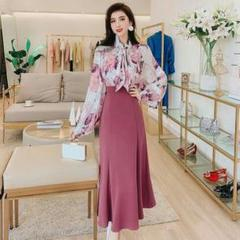 "Thumbnail of ""春の花柄セット新モデルのミューズスカートs-2xl'"""