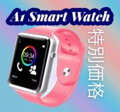 """Thumbnail of """"数量限定販売 A1 Smart Watch 男女兼用(ユニセックス) 桃"""""""