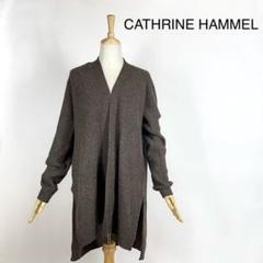 """Thumbnail of """"CATHRINE HAMMEL ラグランスリーブ ロングカーディガン 羽織り S"""""""