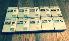 """Thumbnail of """"キングジム テプラ PROテープ 18mm SS18K  10個"""""""