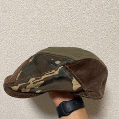 "Thumbnail of ""迷彩 コーディーロイ ハンチング帽"""