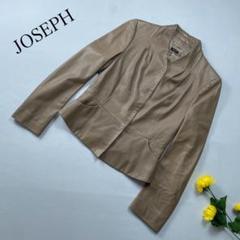 "Thumbnail of ""JOSEPH レザージャケット ラムスキン ボタン 羊革"""