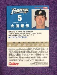 "Thumbnail of ""プロ野球チップス2021 大田泰示選手 カード"""