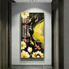 """Thumbnail of """"装飾画福引きの鯉リビングルーム装飾画 玄関装飾画リビングルーム装飾画玄関装飾"""""""