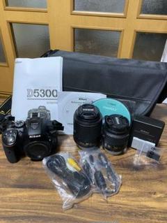 """Thumbnail of """"Nikon D5300 ダブルズームキット BLACK"""""""