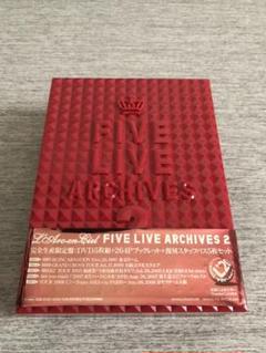 """Thumbnail of """"L'Arc〜en〜Ciel FIVE ARCHIVES 2 DVD 美品"""""""