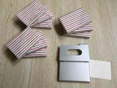 "Thumbnail of ""名刺入れ  カード入れ9個で"""