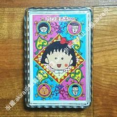"""Thumbnail of """"ちびまる子ちゃん トランプ カードゲーム さくらももこ 新品未開封 当時物 レア"""""""