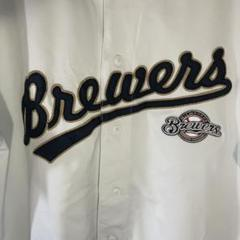"""Thumbnail of """"90s MLB ブレーブス ゲームシャツ XL ベースボールシャツ ビックサイズ"""""""