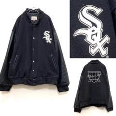 "Thumbnail of ""90s MLB ホワイトソックス スタジャン US古着 レザースタジャン"""