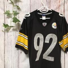"""Thumbnail of """"NFL  アメリカンフットボール ゲームシャツ  スティーラーズ  ハリソン92"""""""