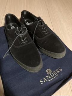 """Thumbnail of """"Oxford Deck Shoe Black Suede  Size GB8"""""""