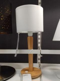"Thumbnail of ""IKEA 木製ランプ ウッド テーブルランプ カーリントルプ リングスタ"""