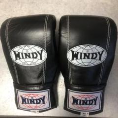 """Thumbnail of """"WINDY ボクシンググローブ パンチンググローブ TBG-2 ブラック"""""""