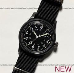"""Thumbnail of """"ブラックカラーBLACK♪ミリタリーウォッチ型デザイン☆シンプルデザイン☆腕時計"""""""