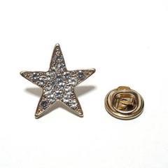 "Thumbnail of ""【ラペルピン★ピンズ】スター 星 ゴールド 20x20mm pin-0726"""