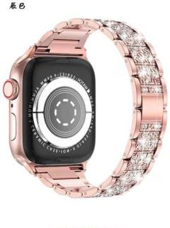 """Thumbnail of """"コンパチブル Apple Watch バンドダイヤモンドラインストーンステンレス"""""""