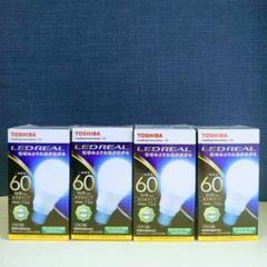 "Thumbnail of ""【新品、未使用】東芝LED電球60W形  E26口金  昼白色4個"""