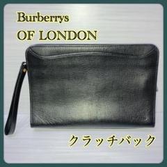 "Thumbnail of ""【Burberrys OF LONDON 】クラッチ セカンドバッグ ブラック"""