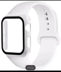 """Thumbnail of """"Apple Watch ラバーベルト 42mm ホワイト"""""""