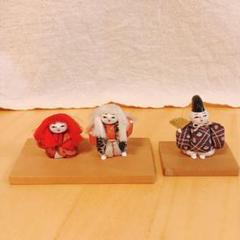 """Thumbnail of """"浅草 仲見世 助六 歌舞伎 連獅子 人形 伝統玩具 レア 伝統工芸品"""""""