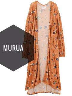 """Thumbnail of """"MURUA【新品、タグ付き】花柄 長袖 ボレロ カーディガン"""""""