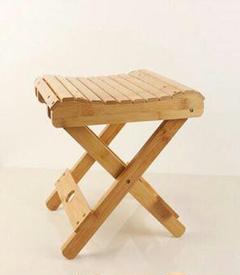 """Thumbnail of """"竹折り畳み椅子携帯型家庭用実木マザ屋外釣り椅子小さなベンチ小さな腰掛け3"""""""