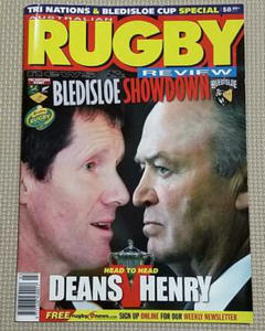 """Thumbnail of """"豪州ラグビー雑誌『RUGBY news&REVIEW』"""""""