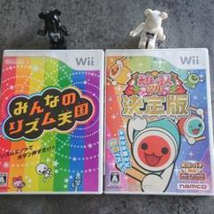 "Thumbnail of ""Wii ソフト みんなのリズム天国   太鼓の達人Wii決定版"""